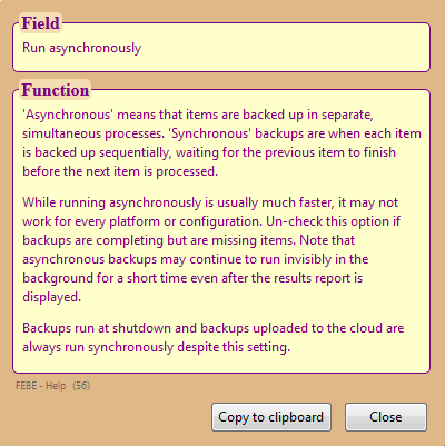 Chuck Baker's Firefox Extension Forum • View topic - In FEBE saving